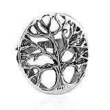 Autiga Ring Edelstahl Lebensbaum Herren Damen Yggdrasil Keltisch CelticTree of Life Silber 64 - Ø 20,57 mm