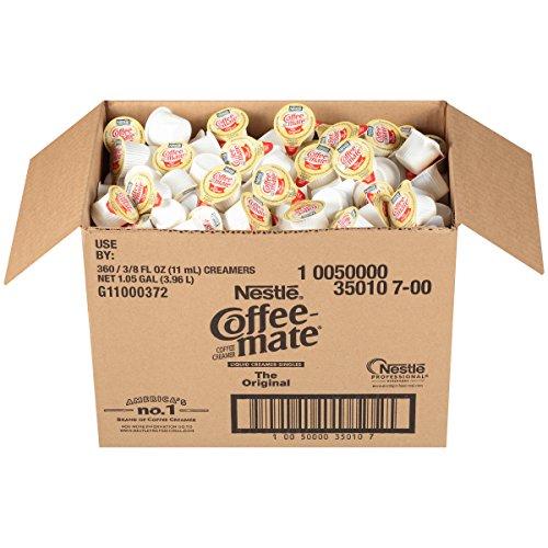 NESTLE COFFEE-MATE Coffee Creamer, Original, liquid creamer singles, 360 Count (Pack of 1)