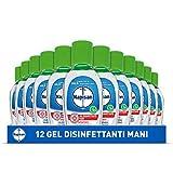 Napisan Gel Igienizzante Mani, Gel Disinfettante, Antibatterico, Confezione Da 12 Gel, Gel Mani da 50 ml