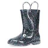Western Chief Girls Glitter Rain Boot, Multi, 13 M US Little Kid