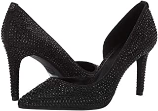Michael Michael Kors Womens Dorothy Flex D'Orsay Pointed, Blk/Blk/Blk, Size 8.5