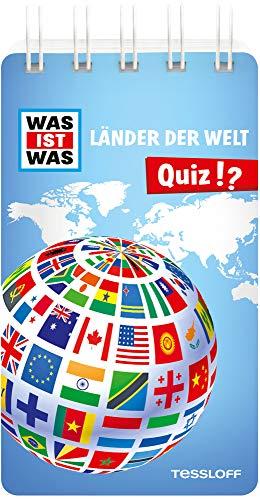 WAS IST WAS Quiz Länder der Welt: Über 100 Fragen und Antworten! Mit Spielanleitung und Punktewertung (WAS IST WAS Quizblöcke)
