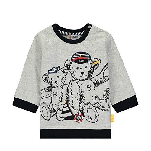 Steiff Baby Sweatshirt Ju.See Bären Größe: 068 Farbe: grau