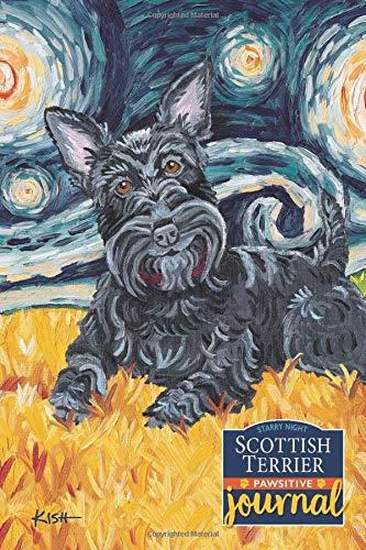 Scottish Terrier Pawsitive Journal: Lined Gratitude Journal for Dog Lovers