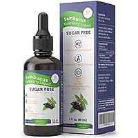 Purify Life Organic 200mg Sugar-Free Elderberry Syrup for Kids & Adults