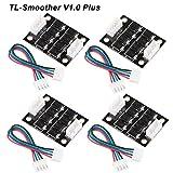 4 pz TL-Smoother V1.0 Plus Modulo Addon Accessori per stampanti 3D Filtro per l'eliminazione dei modelli Filtro per il ritaglio del motore 3D Driver per motori Pinter Terminator Reprap MK8 I3