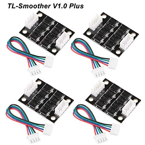 4 pz TL-Smoother V1.0 Plus Modulo Addon Accessori per stampanti 3D Filtro per l\'eliminazione dei modelli Filtro per il ritaglio del motore 3D Driver per motori Pinter Terminator Reprap MK8 I3