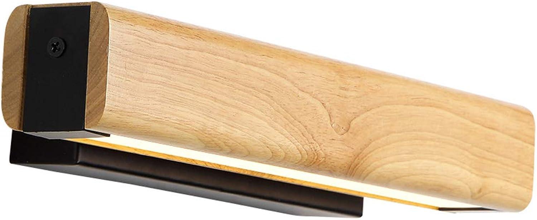 Moderne geführte Spiegel-Scheinwerfer, Badezimmer-WC-Spiegel-Kabinett-Wandlampe wasserdicht und Anti-Fog-Beleuchtung, warmes Licht, 8 Watt