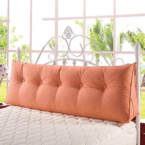 Baozhen Lin solide couleur coussin triangle solide amovible et lavable sac à dos double couple sac de couchage coussin chaud et confortable (Couleur : D, taille : 150 * 50 * 20cm)