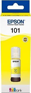 Epson 101 EcoTank Ink Bottle, Yellow Ink for Printer Refill, 70ml
