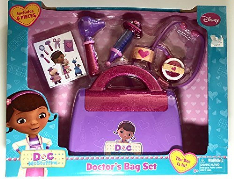 perfecto Doc Doc Doc Mcstuffins Doctor's Bag Set 6 Piece Set Disney by Disney  a la venta