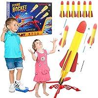 kyliandi Backyard Games Air Powered Jump Rocket Launchers