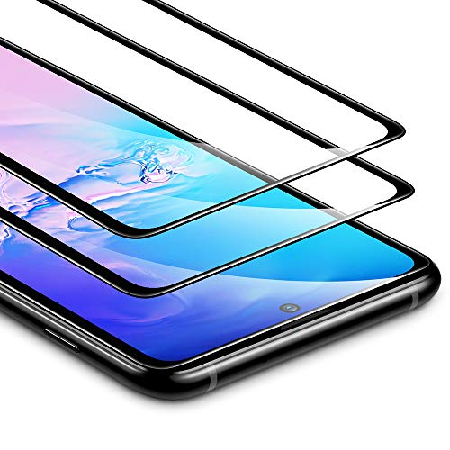 Preisvergleich Produktbild ESR Screen Protector for Samsung S10 Lite [2-Pack],  Tempered-Glass Full-Coverage, 2.5D Edge Protection,  Full Screen Coverage for Samsung Galaxy S10 Lite (2020)