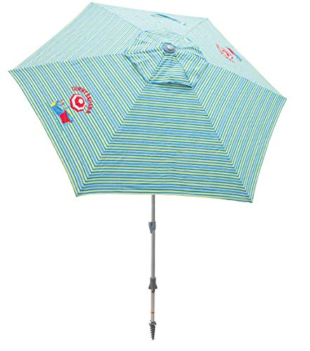 Tommy Bahama Market Umbrella - Blue, 7'
