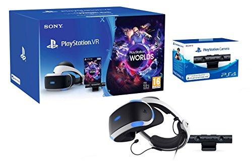PlayStation VR2 (CUH-ZVR2) Starter Pack + VR Worlds + Camera VR