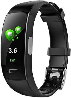 RGFITNESS Smartwatch IP68, Reloj Inteligente Hombre con 8 Modos Deporte, Reloj Deportivo, Monitor de sueño, Pulsómetro, Podómetro, Notificación Llamada y Mensaje, Cámara Remoto para Andriod y iOS