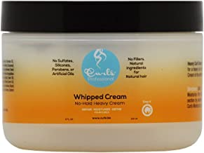 Curls Whipped Cream Heavy Curl Styling Cream, 8-Ounce Jars