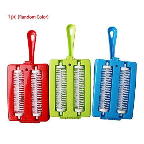 Find Cheap Carpet Debris Brush,Multi-Functional Hand-held Double Roller Brushes Heads Handheld Carpe...