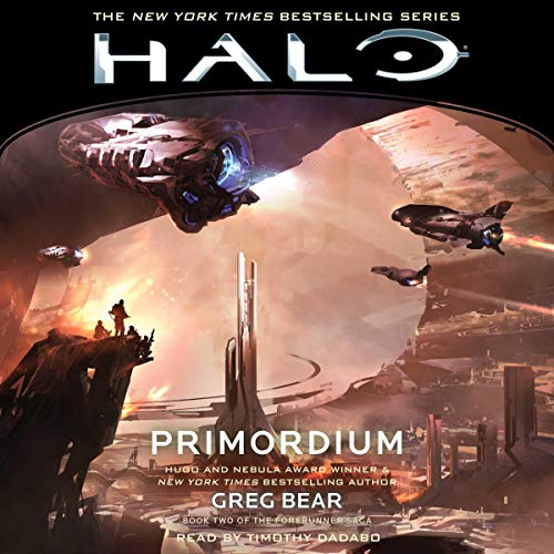 HALO: Primordium audiobook cover art