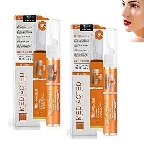 Gel de eliminación de imperfecciones instantáneo para el rostro, Gel de eliminación de imperfecciones instantáneas, VC Whitening Essence Serum Ilumina la piel (2 dormitorios)