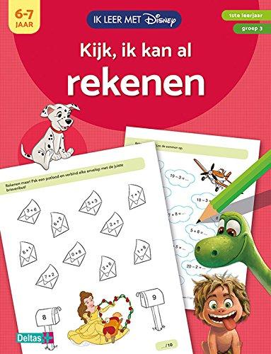 Disney 0620186 Ik Leer met Kijk Ik Kan Al Rekenen 6-7 Jaar (9%), 72-84 mnd