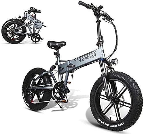 Bicicleta electrica Bicicleta eléctrica de 20 pulgadas de la bici de montaña...