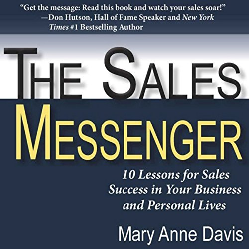 The Sales Messenger audiobook cover art