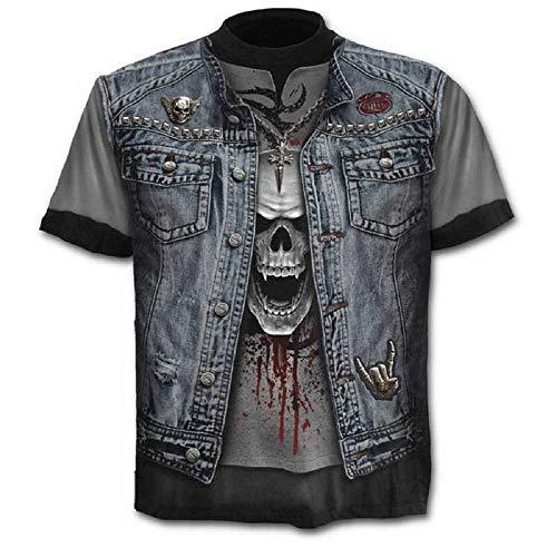 Größe L - C01 - T-Shirt - Hemd - Trikot - 3D - Kurze Ärmel - Männer - Frauen - Unisex - Lustig -...