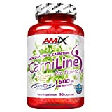 Amix CarniLine Pro-Fitness fat burner for healthy weight loss, 90 capsules