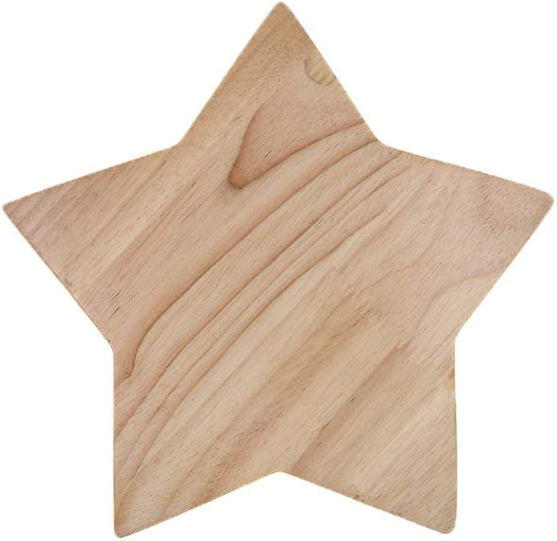 ATR Holz Nordic Wandleuchte Lampe Einfache Sternform Led Kreative Wohnzimmer Kinderzimmer Dekoration Wandleuchte Wandlampen Kinderzimmer Stern Nachtwandleuchte (gre  S)