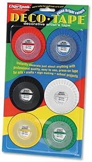 Chartpak - Deco Bright Decorative Tape, 1/8