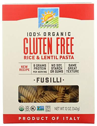 Bionaturae, Pasta, Fusilli, Gluten Free, Organic, 12 oz