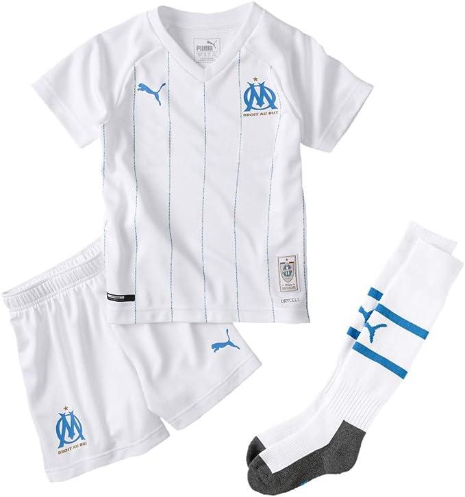PUMA Set Domicile Olympique de Marseille pour Enfant Maillot ...