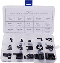 Eowpower 160pcs 16 Kinds M2 M3 M4 M5 Roll Slotted Spring Pin Assortment kit