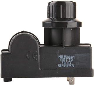 TopinCN - Encendedor de botón pulsador con microruptor de encendido eléctrico, generador de chispas de alta frecuencia de imulsión de calentamiento duradero para parrilla de gas (2 salidas)