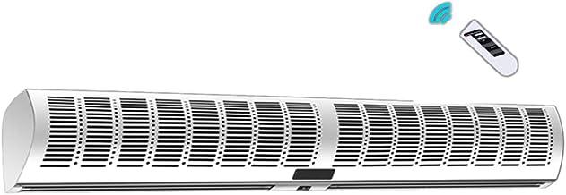 Mute door luchtgordijn luchtgordijn luchtgordijn luchtgordijn machine met afstandsbediening demper ventilatie ventilator 9...