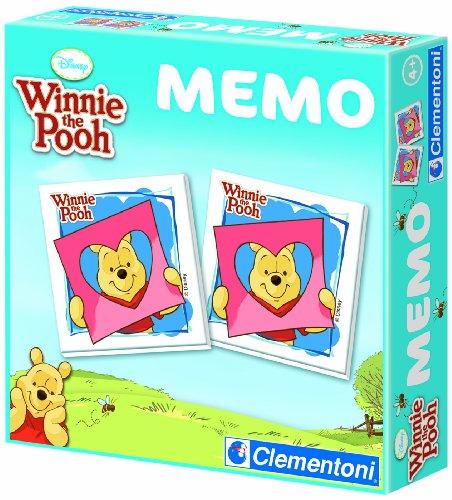 Clementoni 12820.4 – Memo Games Winnie l'ourson