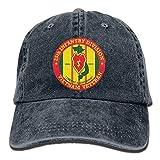 Lionel Philip Sport Classique décontracté Chapeau de Soleil uni 25e Division d'infanterie Vietnam vétéran Casquettes de Baseball réglables Chapeaux en Jean Cowboy Sport en Plein air