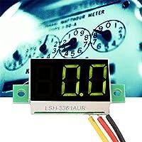 𝐍𝐞𝒘 𝐘𝐞𝐚𝐫'𝐬 𝐃𝐞𝐚𝐥 信頼性の高い便利なDC電圧計、電圧計、低消費電力電圧測定のための明確な業界DC電圧工場の測定【クリスマスプレゼント、ニューイヤーギフト】
