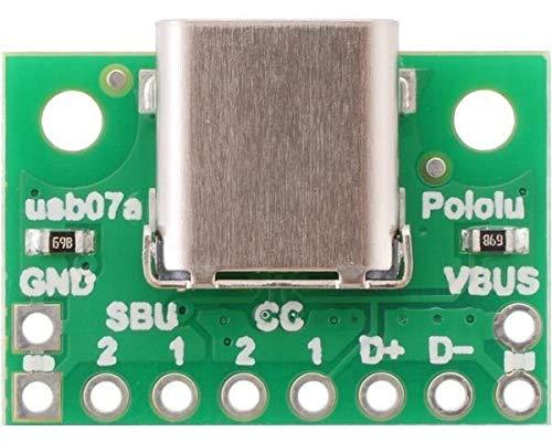 Pololu Conector USB 2.0 tipo C. 4