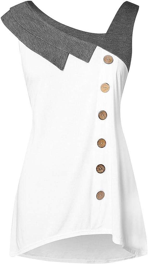 Las Rebajas! Camisas De Vestir Asimétricas para Mujer, con ...