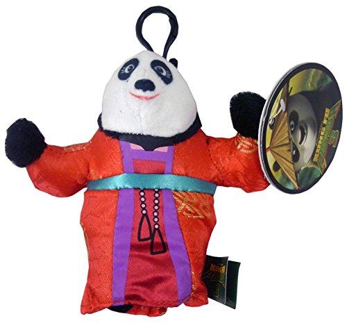 dreamworks 11cm Kung Fu Panda Suave del Bolso del Juguete Clip - Mei Mei