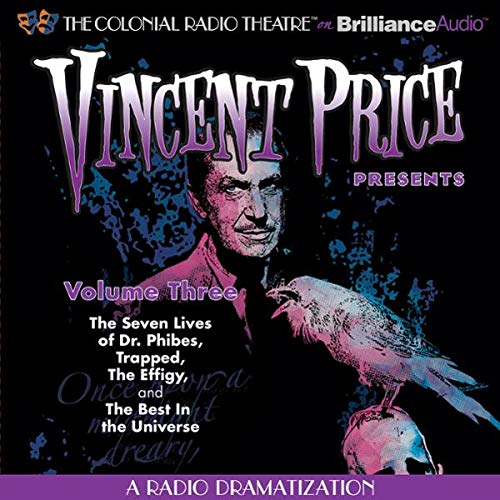 Vincent Price Presents - Volume Three cover art
