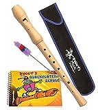 Voggy's Blockflöten-Set : Ahornflöte