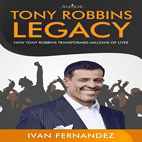 Tony Robbins Legacy audiobook cover art