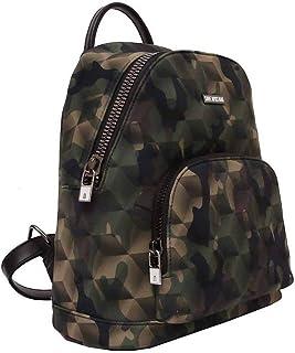 Save My Bag Backpack Damen Rucksack - Metropolitan Printed - Camouflage Green