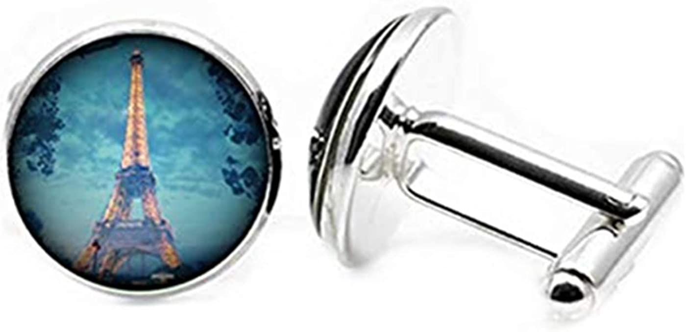 Hobbs Max Luxury goods 56% OFF Paris Tower Cufflinks Charming Dome Gl Picture