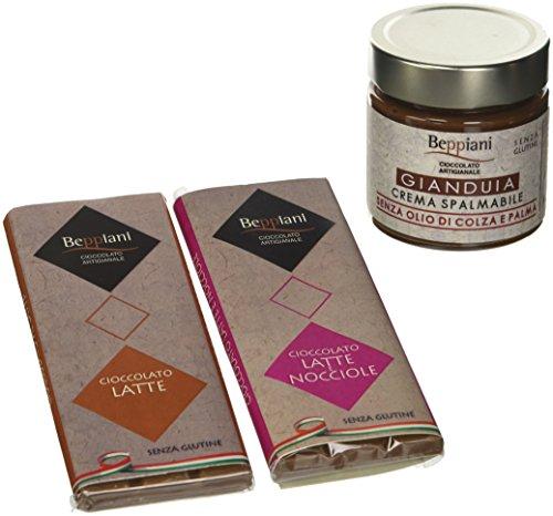 Beppiani Set Degustazione Cioccolato al Latte e Crema...
