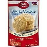 Betty Crocker Baking Mix, Sugar Cookie Mix, 6.25 Oz Pouch (Pack of 9)