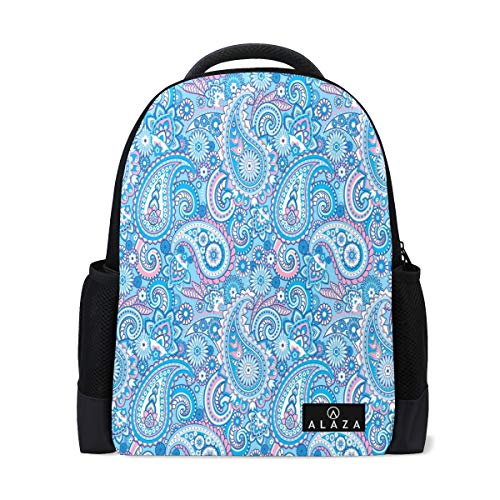 Travel Laptop Backpack Women Print Bookbags Paisley Best School College Student Daypack for Girls Teenage